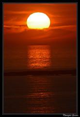 Coucher de soleil à Surtainville
