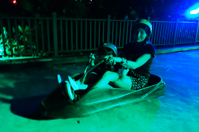 Another picture of Jerry & me on the Luge Ride at Sentosa!