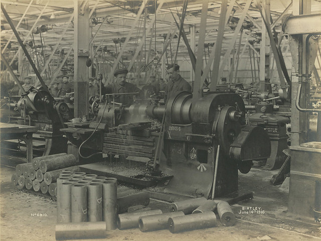National Projectile Factory, Birtley