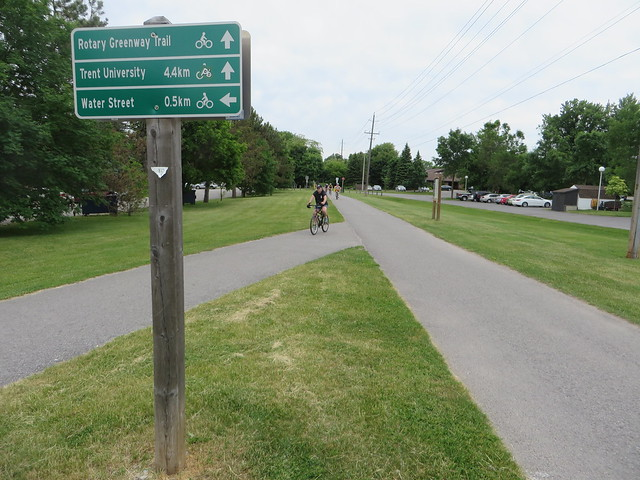 Wayfinding on Peterborough's trails