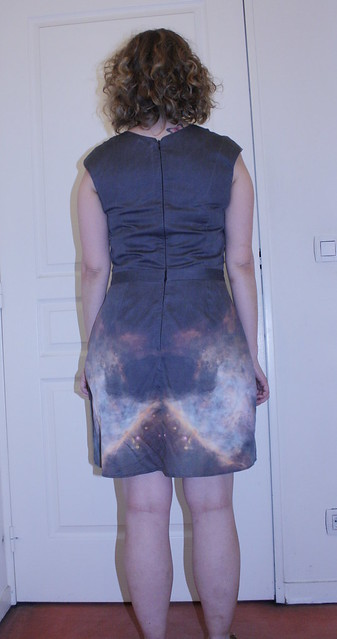 Orion Bar dress - back
