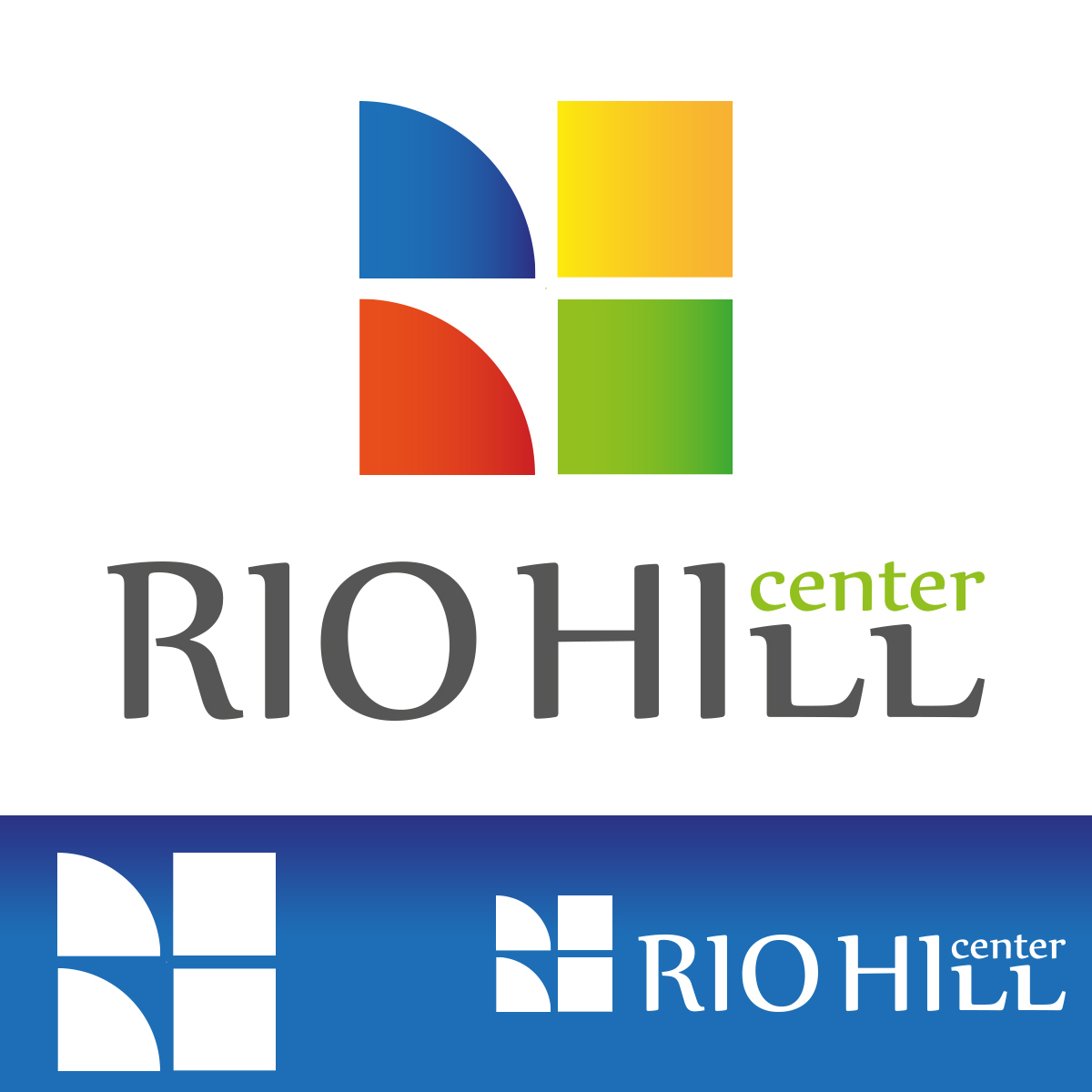 RIO HILL Center logóterv
