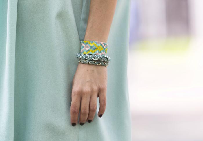 street style barbara crespo tiffany dress the corner shop fashion blogger outfit blog de moda
