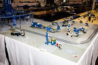 DelVaLUG - Moonbase - Space - Lego MOC - BrickFair VA 2014 - Chantilly, VA