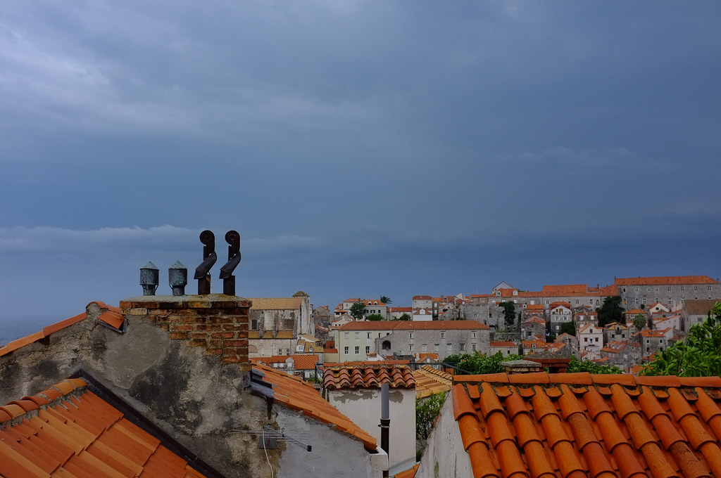 Old Town roofs II