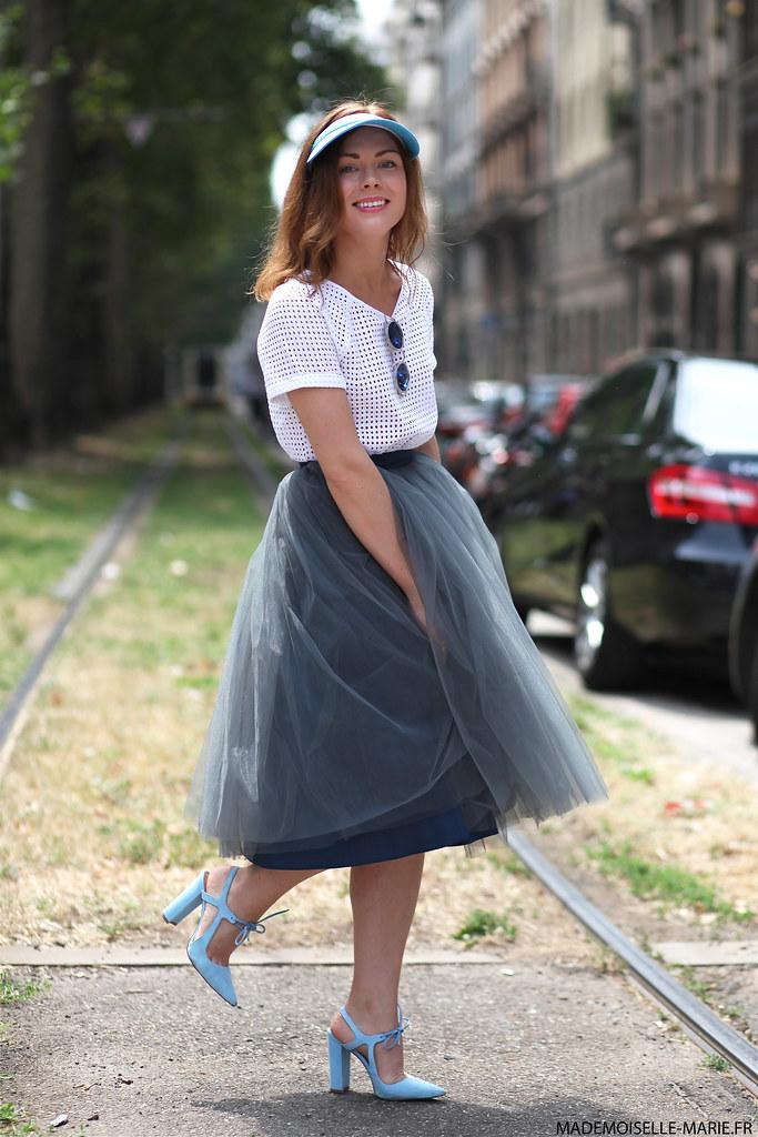 Aksinia Vine at Milan Fashion Week day 3