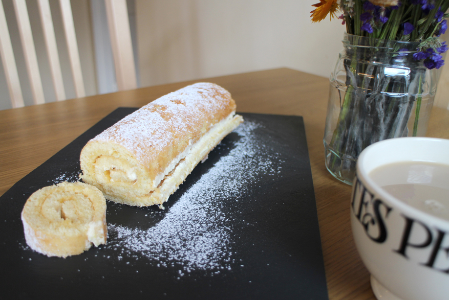 Lemon Swiss Roll