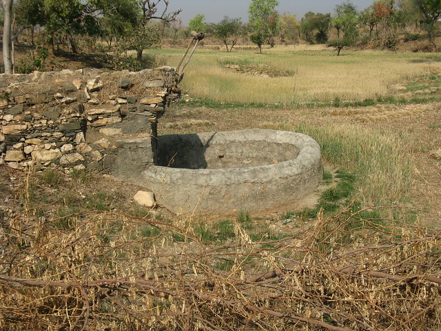 People revived the wells with small investments made on well lining.
