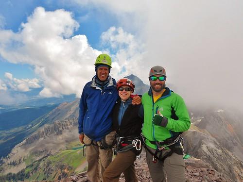 Happy Climbers Summit Dallas Peak