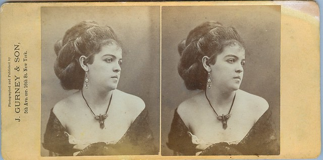 A very beautiful stereoview by Gurney a founding photographer in the USA