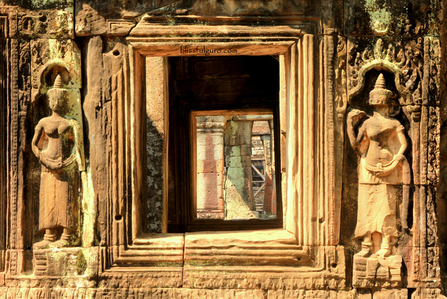 Siem Reap Cambodia Bantay Kdei Temple