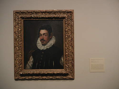 DSCN1165 _ Portrait of a Gentleman, c 1585-90, Domenico Robusti, called Domenico Tintoretto, Blanton Museum, Austin
