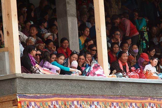 Cham dance, festival at Takthok Gompa. Ladakh, 06 Aug 2014. N089