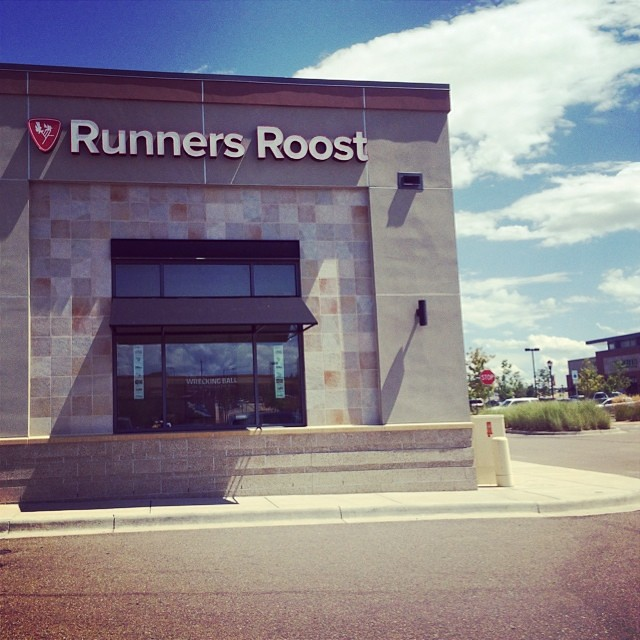 Picking up some goodies from one of my fav #running stores! Love @runnersroost! I love being here! #travelgram #runchat #embracethespace