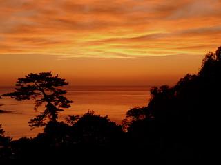三四郎島からの夕景