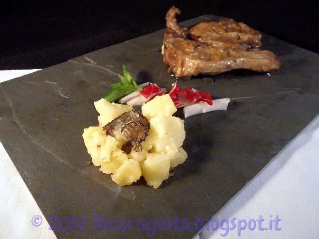 04-Agnello marinato al tartufo con patate al tartufo