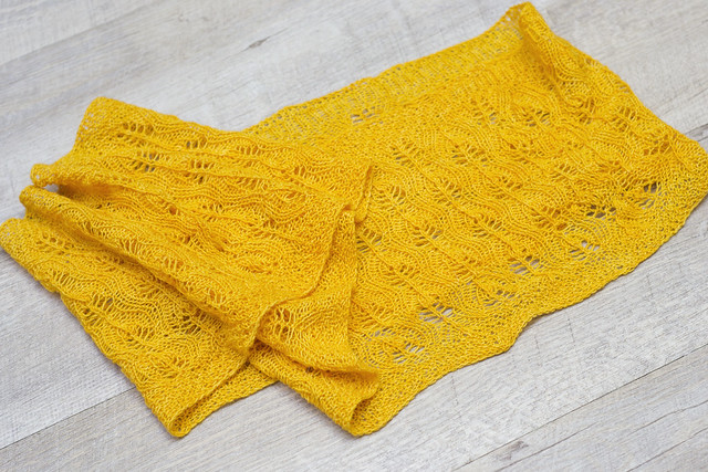 Ochre Leaves Cowl