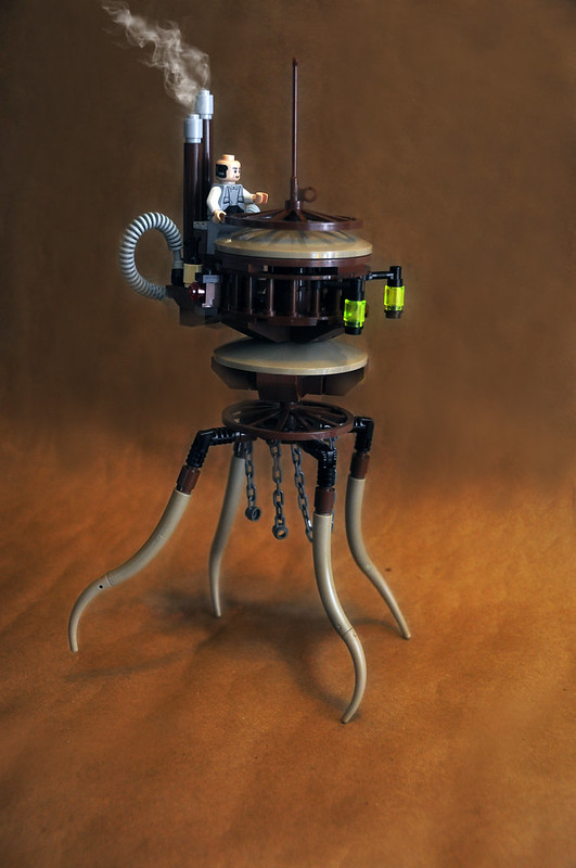 Imperial Steam Probe Droid