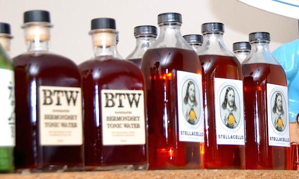 Bermondsey Tonic Water and Stellacello Pompelmo Grapefruit Liqueur