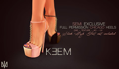 SEMI EXCLUSIVE - FULL PERM CHICAGO HEELS @ KEEM