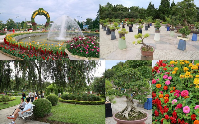 The Flower Park in Da Lat