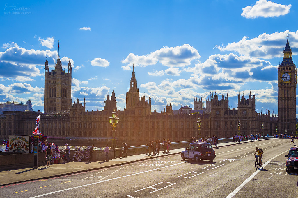 Parliament House, Westminster and the Big Ben