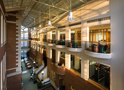 ZSR Library Atrium