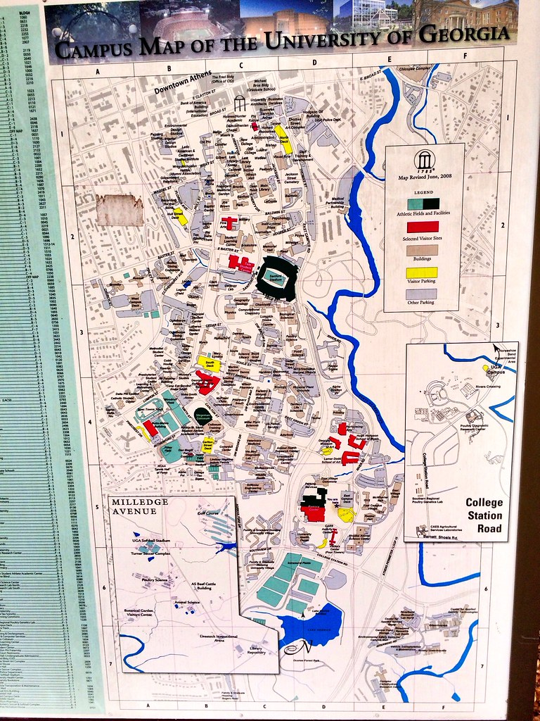 Uga Health Sciences Campus Map.Uga Map Tcu Map Zip Code Map Ohio