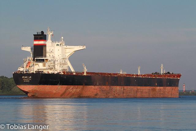 Jean LD outbound Hamburg