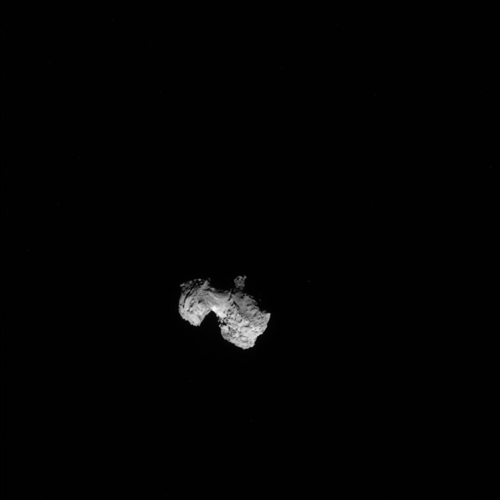 Comet 67P on 3 August 2014 - NAVCAM
