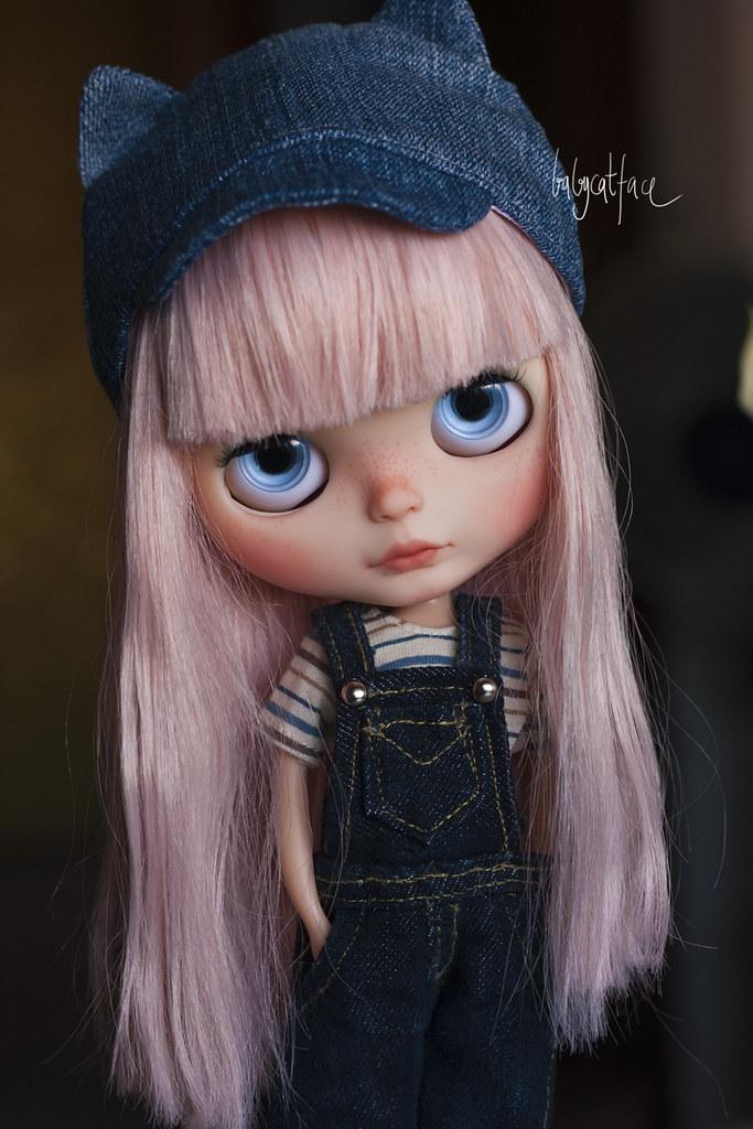 Miss pink hair