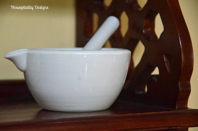 Vintage Mortar and Pestle