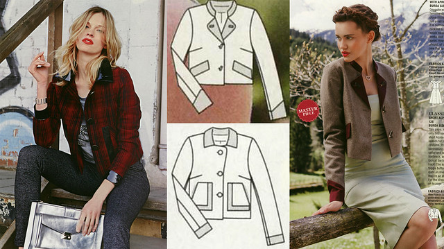 Burda-Sept-2014 Short Jackets