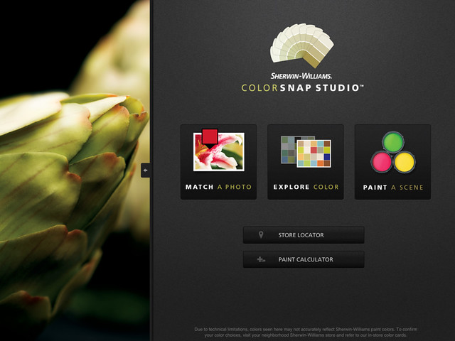 Sherwin-William's ColorSnap app made Apple Store's top 25 most popular applications