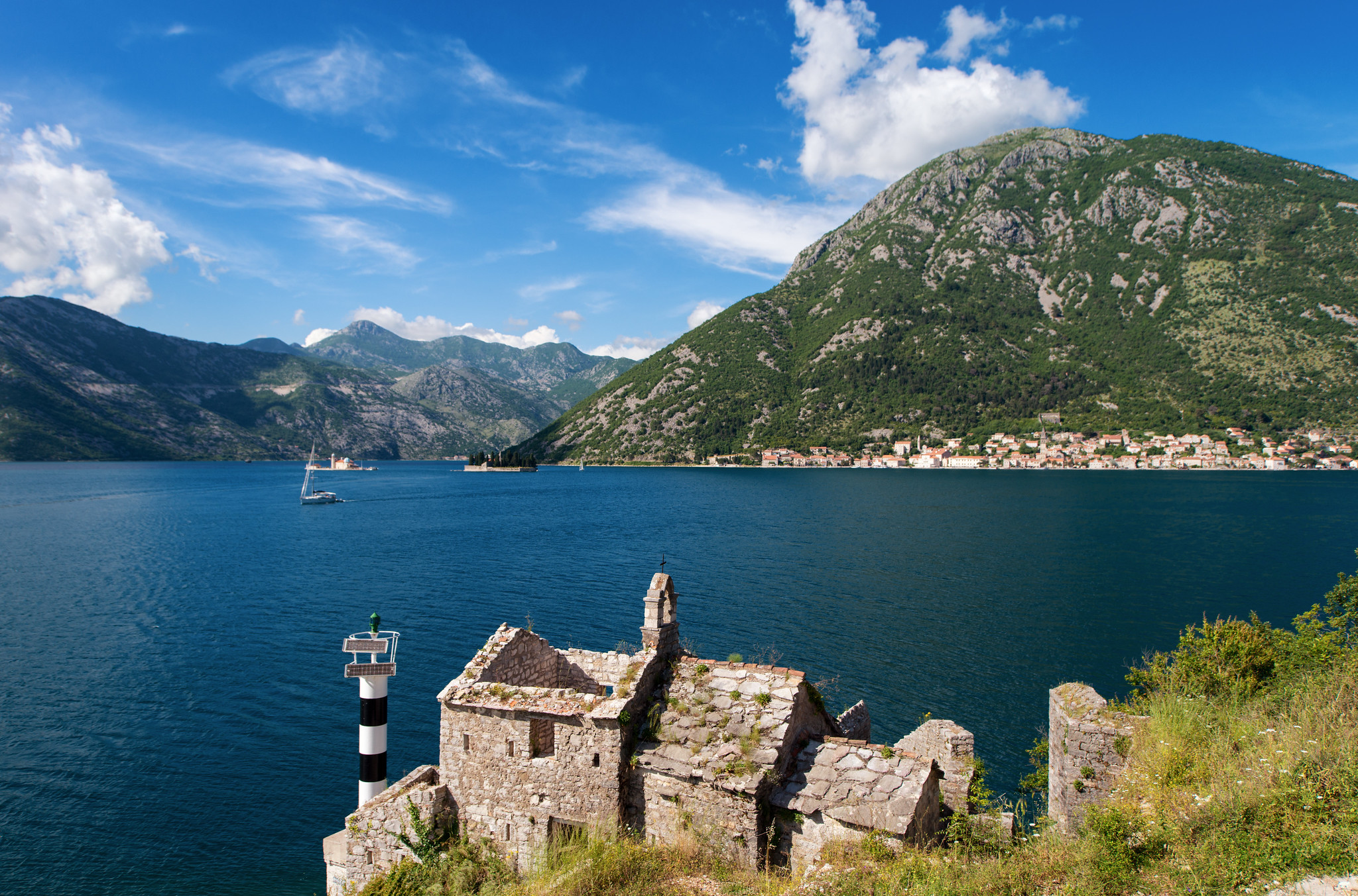 Perast in the Gulf