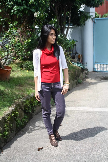 OOTD | Red and Unpredictable