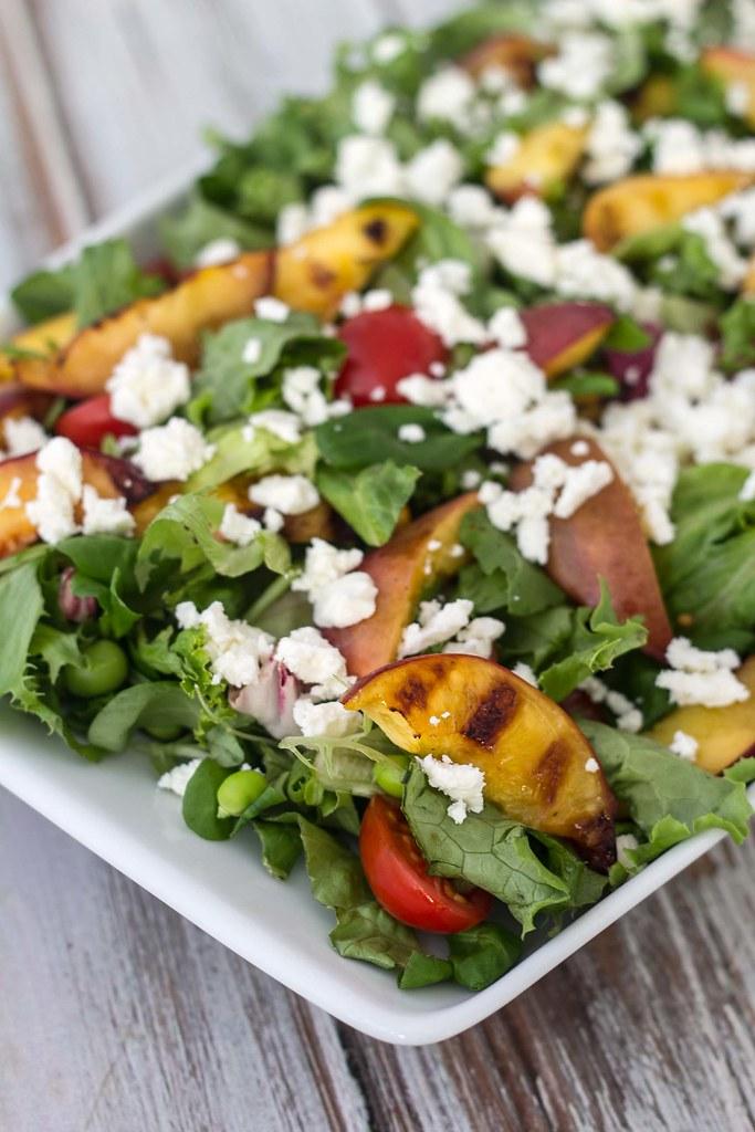 Salat med grillede nektariner (3)