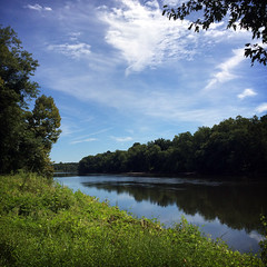 Schuylkill River from the River Trail