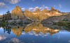 Reflections in Minaret Lake