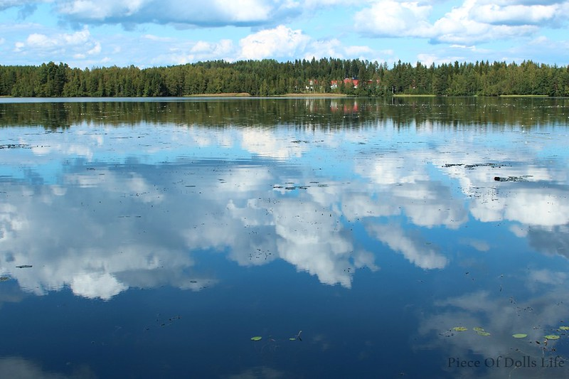 Lake sky, sky lake?
