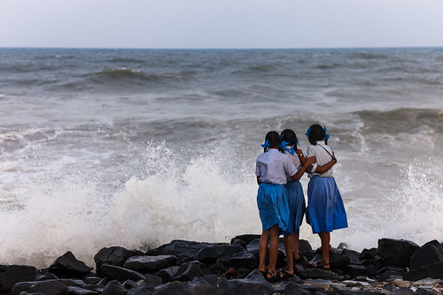 ocean street travel girls sea people india beach water composition french three uniform waves indian watching streetphotography streetscene uniforms dailylife splash simple schoolgirls tamil tamilnadu schooluniform observers pondicherry southindia streetshot pondy passingby tamoul pondi travelphotography republicofindia pondichéry frenchcolony ef247028l indiansubcontinent puducherry beachwaves भारतगणराज्य canoneos5dmarkii quartierfrançais bhārat frencharea travelanddocumentaryphotography ভারত marjilang