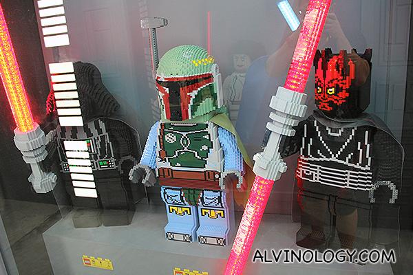 Darth Vader, Boba Fett, Darth Maul