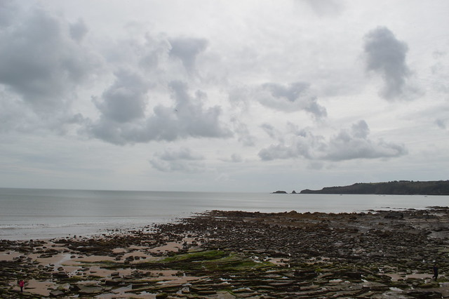 A picture of Sundersfoot beach