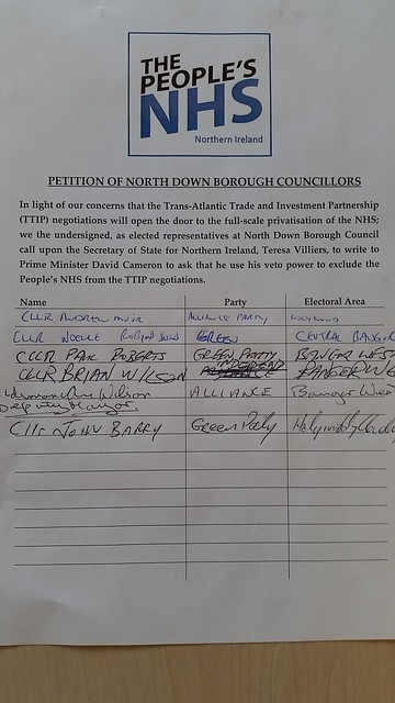 North Down Petition