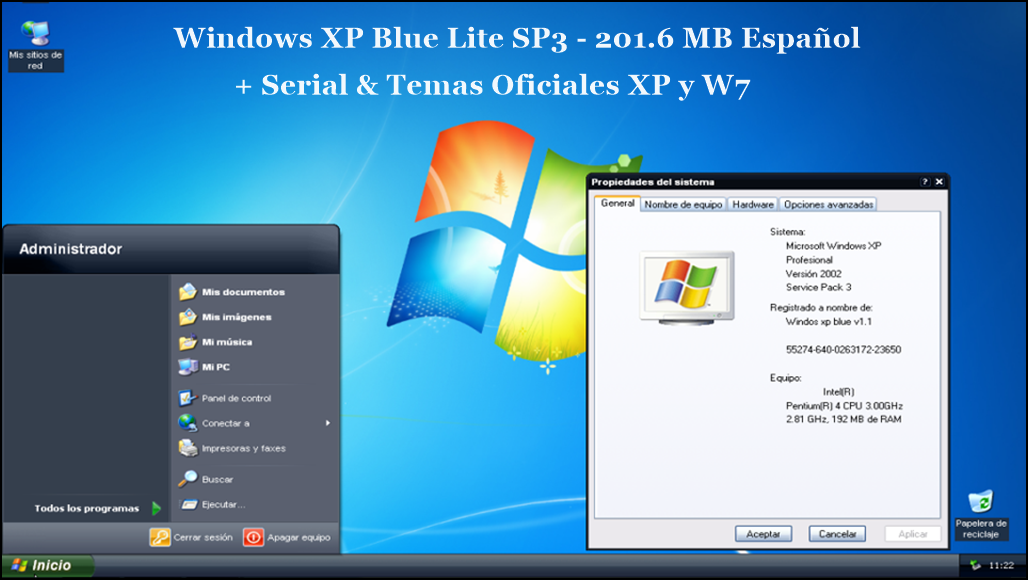 Xp sp3 lite