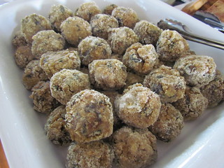 Wild Mushroom Risotto Balls