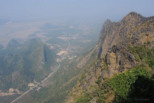 mountain burma route myanmar montagnes hpaan mountzwegabin