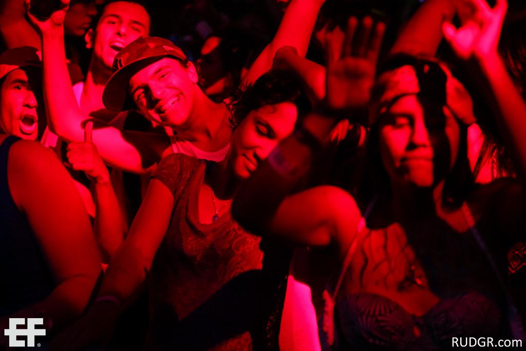 Aruba's EF 2014 Festival night at Nikki Beach with Karixon, Carnage & Chuckie
