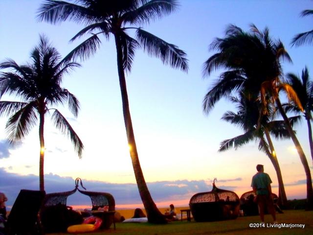 Sunset at Sofitel Manila