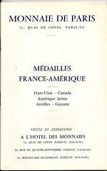 Medailles France-Amerique